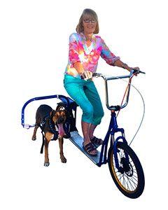 Dog Mushing/Joring Scooter & Pulling Bracket (Clearance)