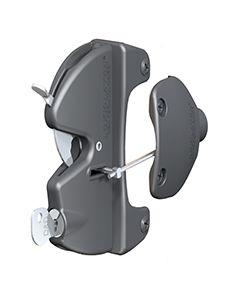The Ultimate, Dual-Lockable Gravity Latch W/ Internal Push Button Access