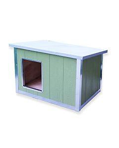 Homestead Wood Panel Dog House