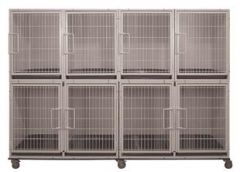 6 or 8 Unit Powder Coated Cage Bank Kit