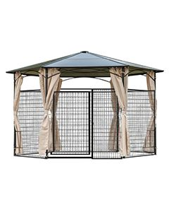 13' X 13' large Dog Kennel Gazebo