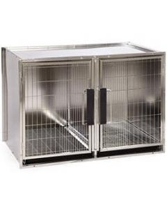 Modular Stainless Steel Cage Bank Large