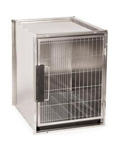 Modular Stainless Steel Cage Bank Medium