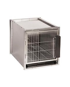 Modular Stainless Steel Cage Bank Small
