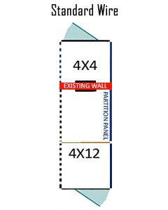 4' X 4' Inside 4' X 12' Outside Multiple Standard Dog Kennels ADDITIONAL STALLS