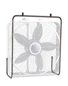 Outdoor Box Fan Kennel Attachment