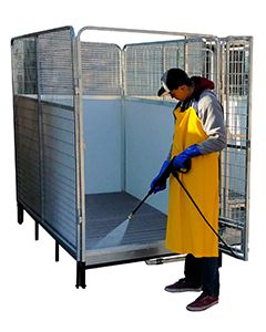Quick-N-Clean Kennel PRO