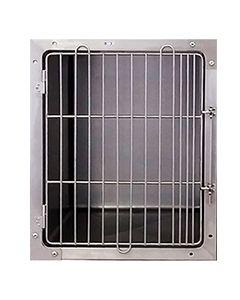 Seamless Stainless Modular Cage Bank Medium