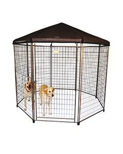 Large Dog Kennel Gazebos