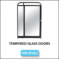 Tempered Glass Kennel Door
