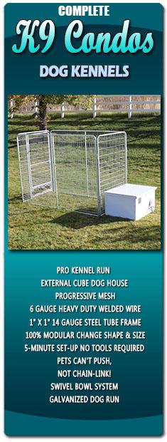 K9 Condos Dog Kennels