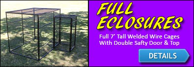 Full Kennel Enclosures
