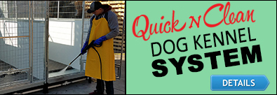 Quick Clean Dog Kennels