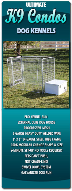 Ultimate K9 Condos Dog Kennels