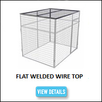 Kennel Flat Top Welded Wire
