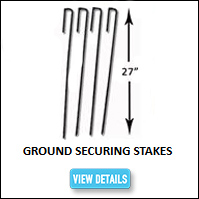 Kennel Ground Securing Stakes