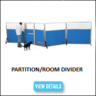 Kennel Partition Divider Panel