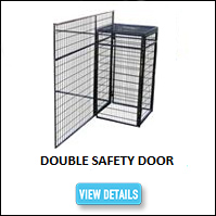 Double Kennel Safety Door