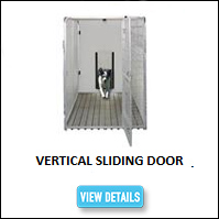 Vertical Sliding Kennel Door