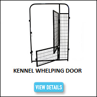 Kennel Whelping Door