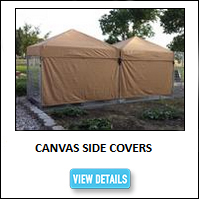 Kennel Canvas Side Cover